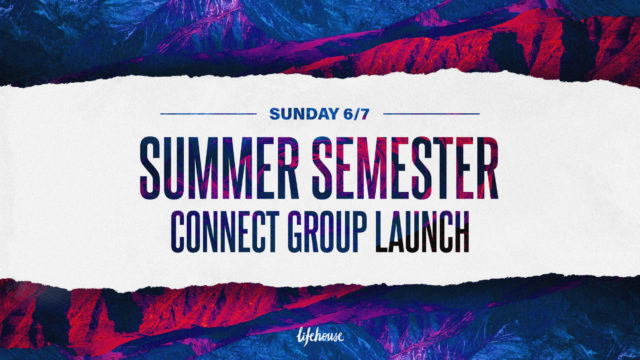 Summer Connect Groups