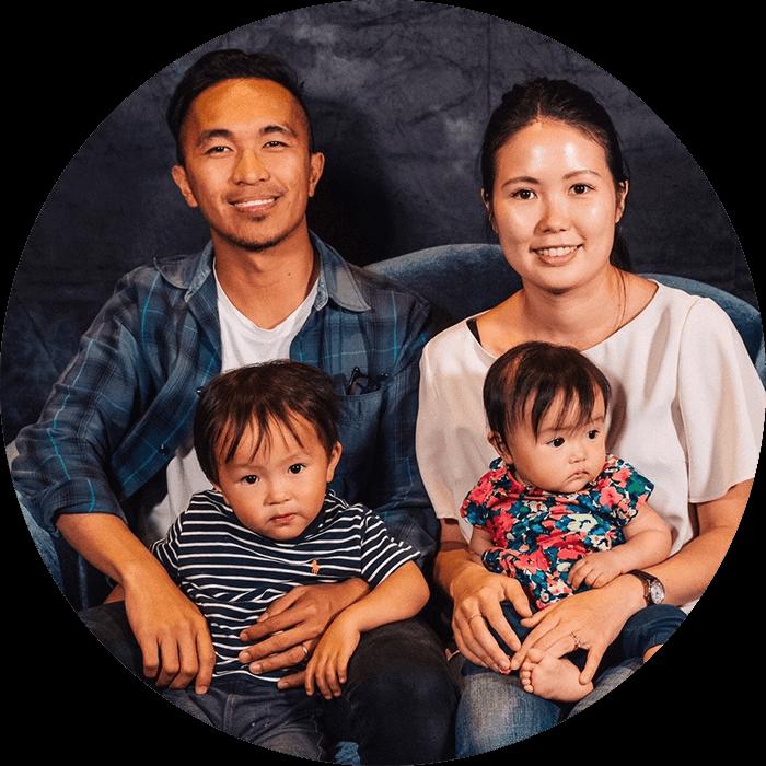 Ps Monci & Kasumi. Lifehouse Manila pastors.
