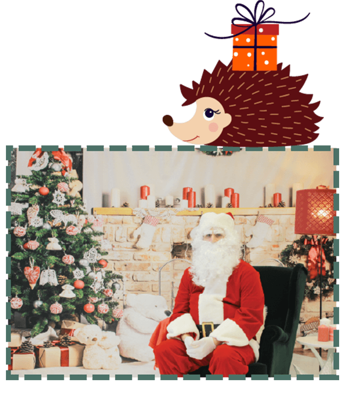 Free photos with Santa in West Tokyo