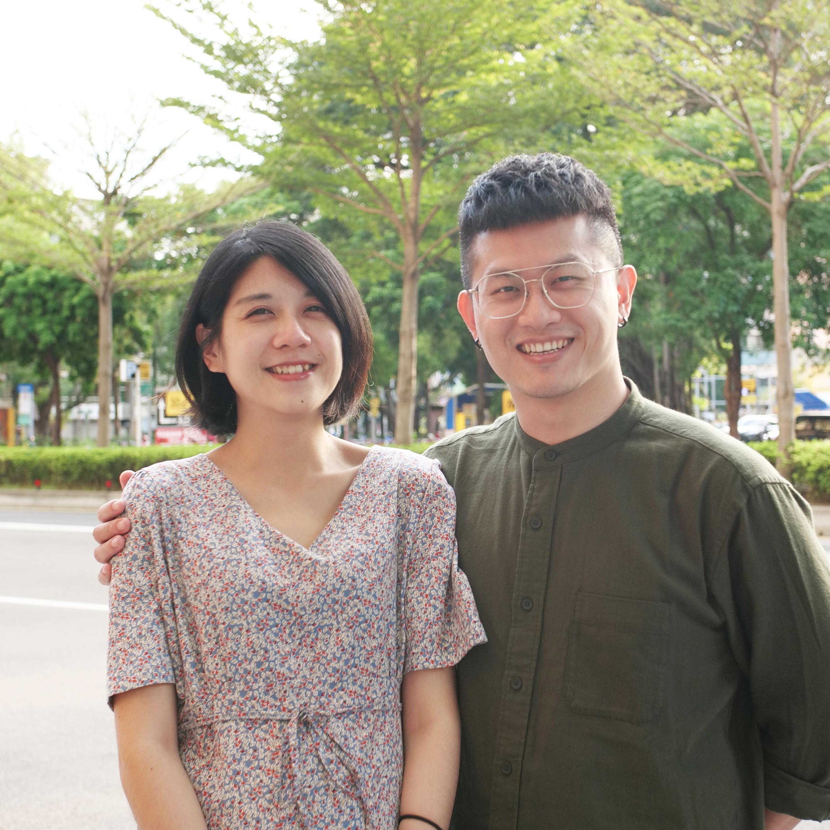 Ps Peter and Jenny, Lifehouse Taipei Pastors. International Church in Taipei